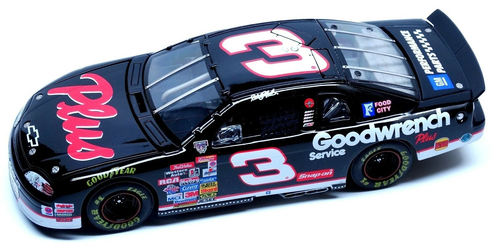 1998 Dale Earnhardt GM Goodwrench Plus 1 24 Scale RCCA Elite MC  7500