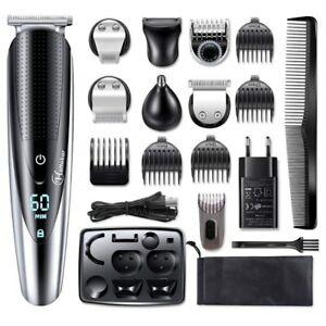 Professional Hair Cut Machine Barber Salon Cutting Clippers Trimmer Kit Wahl Set