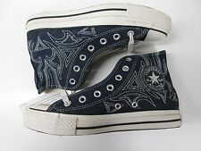 CONVERSE UNIQUE TRIBAL PATTERN DENIM HI CT AS SHOES 1V238 sz: 7.5