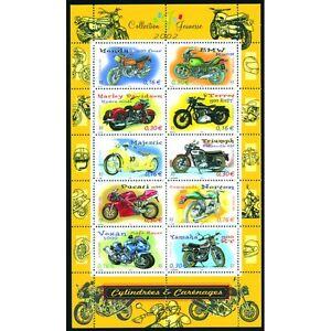 Bloc-Feuillet-BF51-Collection-jeunesse-Cylindrees-et-carenages-2002