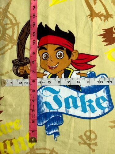 Jake /& the Neverland Pirates moutarde Couleur En Polycoton Tissu-taille différente