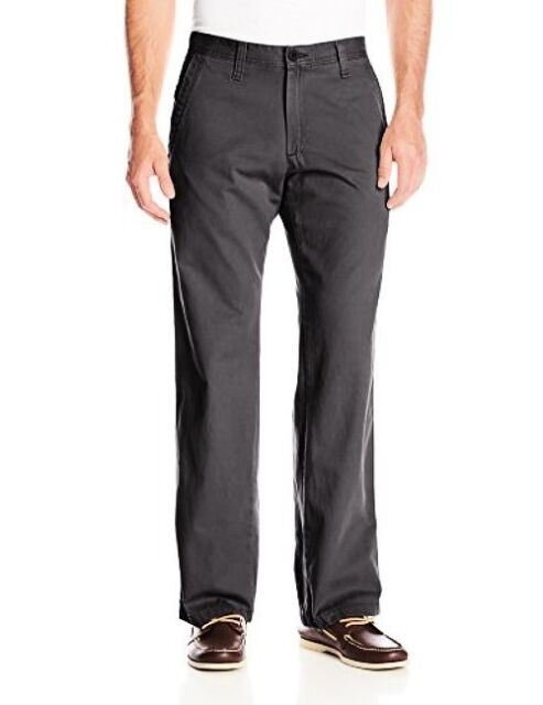 Lee Mens Weekend Chino Straight Fit Flat Front Pant
