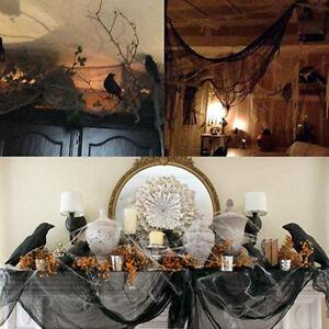 Details about Halloween Gauze Decoration Creepy Cloth Spooky Props Party  Home Decor Supplies