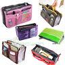 Borsa multi tasche BAG in BAG oggetti make up viaggio divisore organizer donna