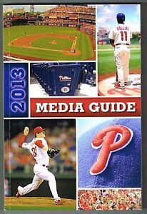 2013 philadelphia phillies mlb baseball media guide ebay rh ebay com MLB Media Player Full Screen MLB Logo