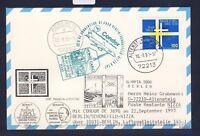 48907) LH Olympiade SF Berlin - Nizza (   Monaco) 22.9.93, Karte FDC Mi 1693