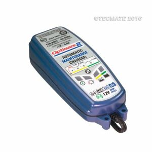 Tecmate Optimate 2 Motorcycle 12V Battery Optimiser Charger Maintainer
