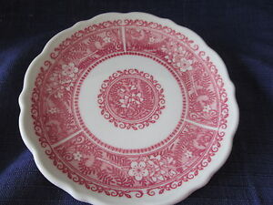 Syracuse Strawberry Hill BREAD PLATES -SWEET of TWO *have more items to this set