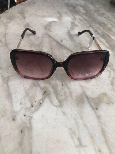 JESSICA SIMPSON SQUARE Women/'s Sunglasses J5715 Tortoise//Rosegold