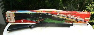 Vintage CROSMAN SILVER Edition 760 PUMPMASTER BB/PELLET GUN w/ORIGINAL BOX $1 NR