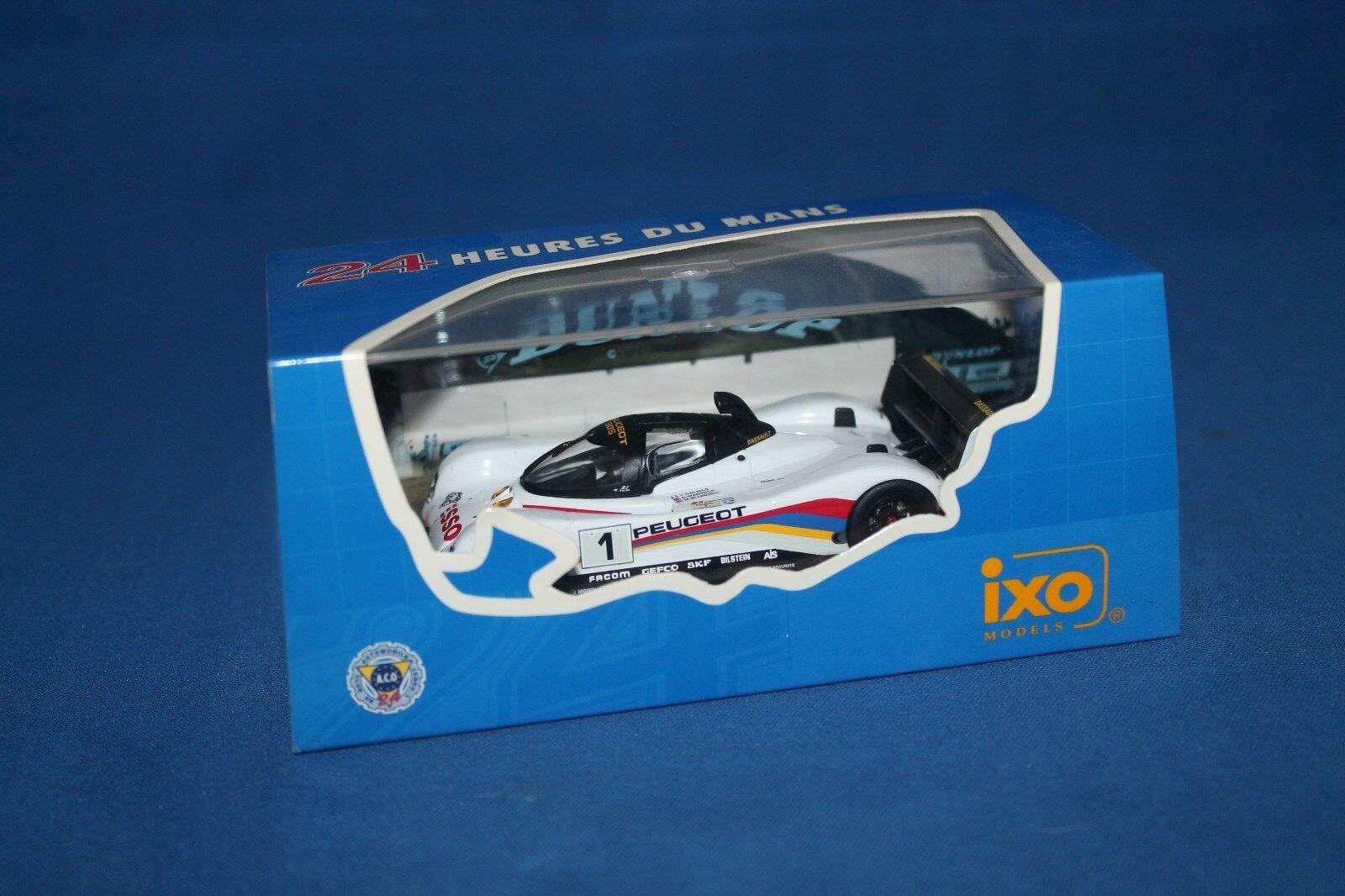 Ixo Peugeot 905 Le Mans 1992 1 43 Scale LM1992