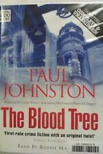 The Blood Tree by Paul Johnston: Unabridged Cassette Audiobook (L2)