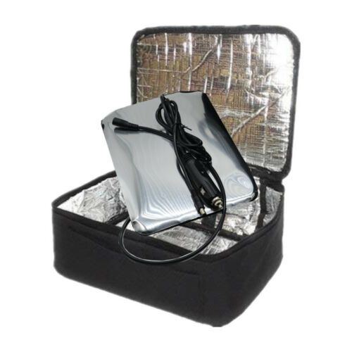 Car Lunch Insulation Boxes Portable Lunch Oven Bag Instant Food Heater Warmer