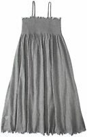 Burt's Bees Baby Girl Knit Dress & Bloomer Set Heather Gray Spaghetti Straps
