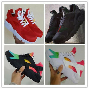 2019-Hot-Men-Air-Huarache-Sport-Shoes-Sneakers-Athletic-Shoes-white-red-SIZE