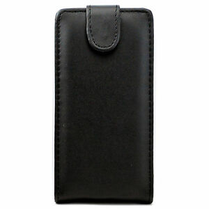 Nice-Black-Magnetic-Flip-PU-Leather-Phone-Shell-Case-Cover-For-Many-Phone-Models