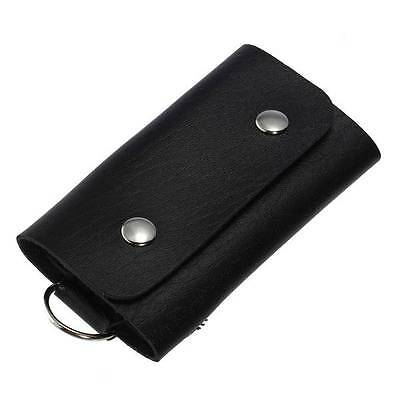 3 Colors Good PU Leather Key Chain Accessory Pouch Bag Wallet Case Key Holder