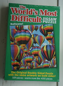 the worlds most difficult balloons jigsaw puzzle official paul