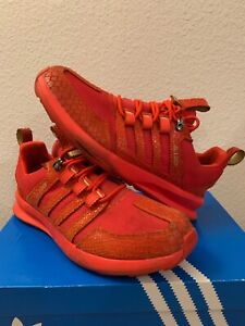 meet cac55 b40ae ADIDAS SL Loop Runner TR ''Reptile Red'' Red/Gold [S85682] Mens Size ...