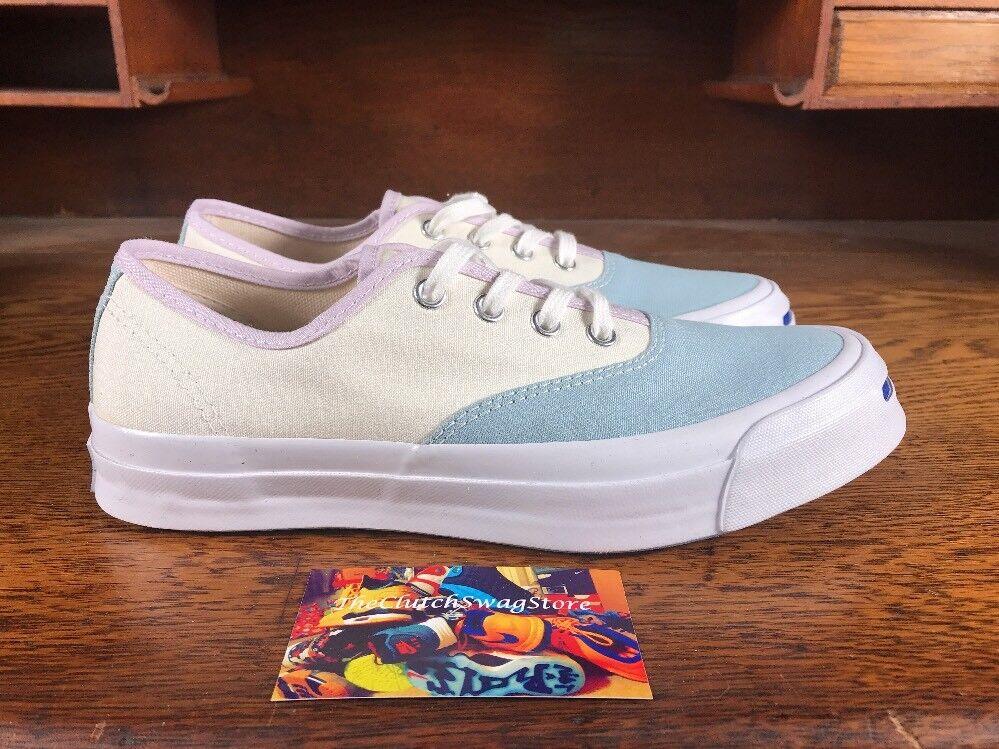 Converse Weiß/Blau Jack Purcell Signature OX Weiß/Blau Converse Lo  Uomo Casual Schuhe Sz 6.5 151454C c1f2e5