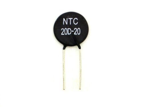 1x thermistor NTC 20d-20 (resistencia, heissleiter, director de en frío) t297