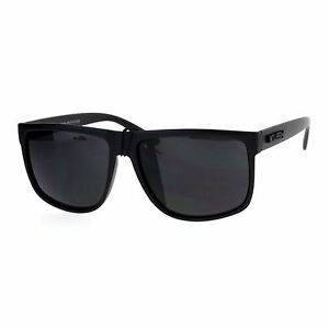 d78dd3c20 Image is loading KUSH-Sunglasses-Classic-Black-Square-Frame-Unisex-Fashion-