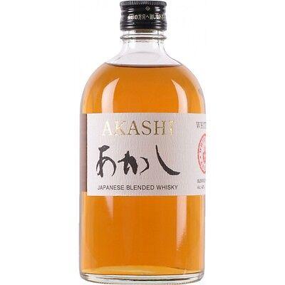 White Oak Akashi Black Japanese Blended Whisky 500ml