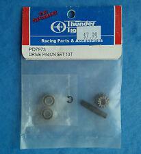 VINTAGE THUNDER TIGER DRIVE PINION SET 13TEETH SPARROWHAWK XXT TOMAHAWK PD7973 N