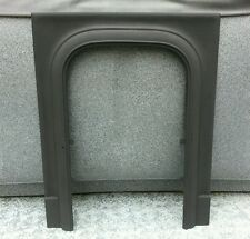 Antique Cast Iron Fireplace Mantle Surround