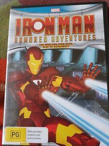 Iron Man Armored Adventures - The Makluan Ring Saga - Rise To Supremacy  DVD NEW