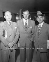 Mobster Bugsy Siegel Photo Flamingo Hotel Casino Las Vegas Gambling Mob 20729