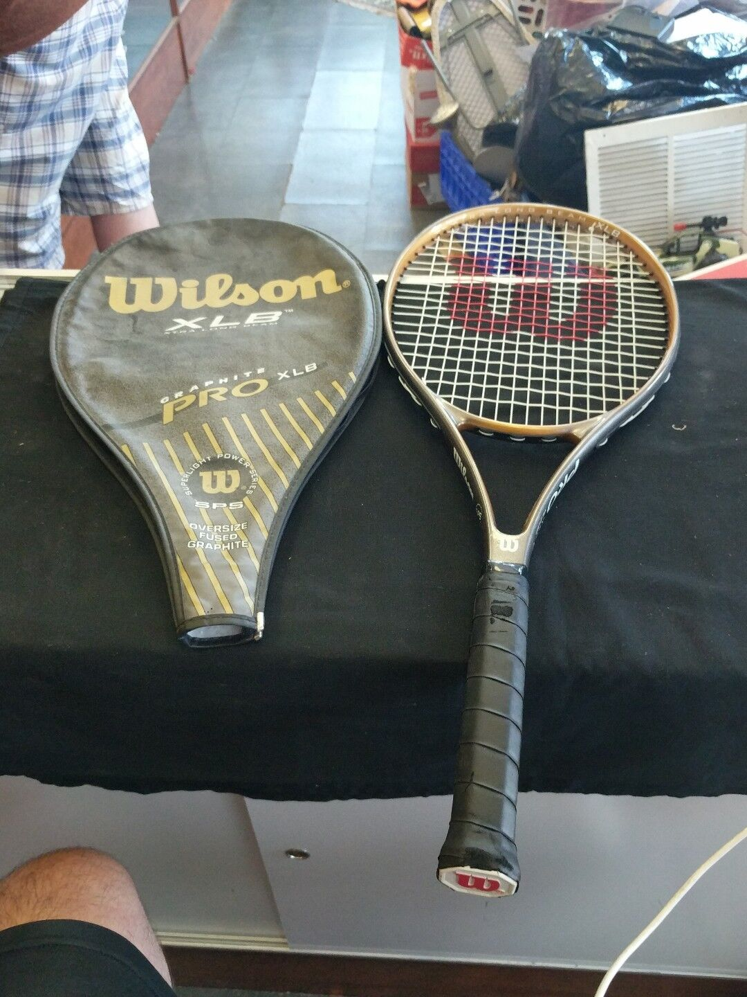 Wilson Graphite XLB Stretch Tennis Racquet