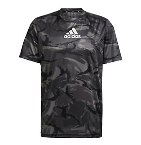 Mens Adidas Short Sleeves Comfortable Fit Camo GT T Shirt Sizes from S to XXL