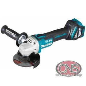 Makita DGA469Z 18V 115mm BL LXT X-Lock Angle Grinder Bare