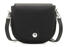 Rag & Bone Mini Flight Crossbody Saddle Bag Handbag Black Leather New With Tag