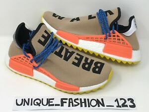 uk availability c47c0 bf447 Details about ADIDAS NMD HUMAN RACE PHARRELL HU TR PW UK 6 7 8 9 10 11  TRAIL PALE NUDE BEIGE