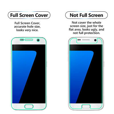1 Pack Full Screen Face Curved Tpu Screen Protector Cover For Samsung Galaxy S7 Im Sommer KüHl Und Im Winter Warm