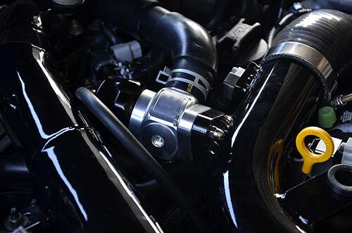 Double Port réglable BOV Blow OFF DUMP VALVE Fits Nissan Juke 1.6 Turbo Nismo