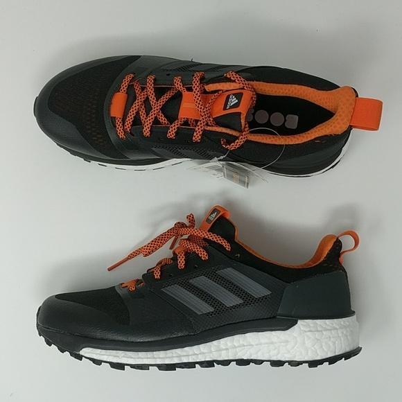 Adidas Supernova Boost Uomo Trail Running Shoes Nero Carbon CG4025