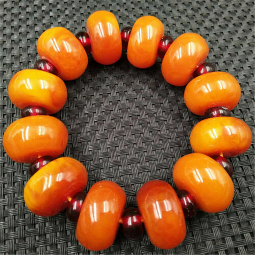 beautiful and popular natural Beaded Bracelet amber fashion high end Beautiful