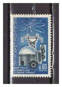 s24868a-FRANCE-1965-MNH-Atomic-energy-1v