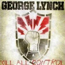 """GEORGE LYNCH """"KILL ALL CONTROL"""" CD NEUWARE"""