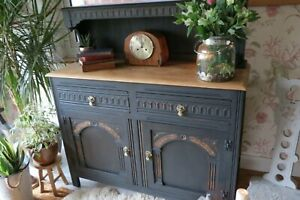 Antique-Solid-Wood-sideboard-cabinet-Dresser