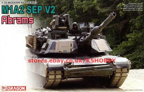 Dragon 3556 1 35 M1A2 SEP V2 Abrams