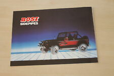 154335) Bosi Bosima Sport-Endrohre - Sidepipes Prospekt 01/1992