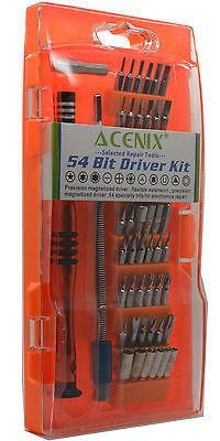 ACENIX® 54 in 1 Repair Screwdrivers Kit Set for iPhone 3, 3GS, 4, 4S, 5, 5S, 5C