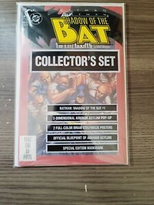 Batman Shadow of the Bat #1 Poly Sealed Collector's Set 1st Victor Zsasz DC 1992