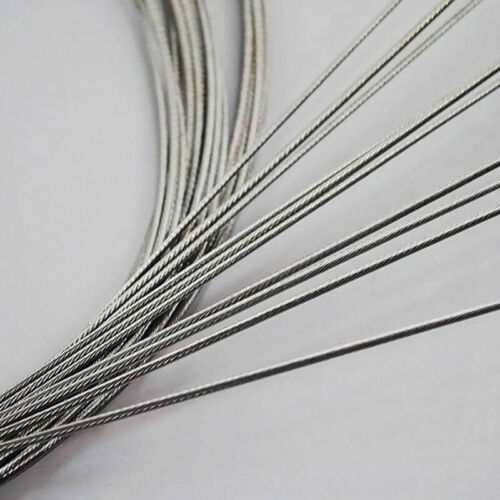 2//4 10Piece Shifting Cable Bike Silber Bowdenzug Inner Cable Gear MTB A2Q3