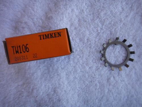 NIB Timken Washer Bearing Lock           TW106