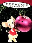 Hallmark Keepsake Ornament Bowl 'em Over Mouse 1996 QX6014